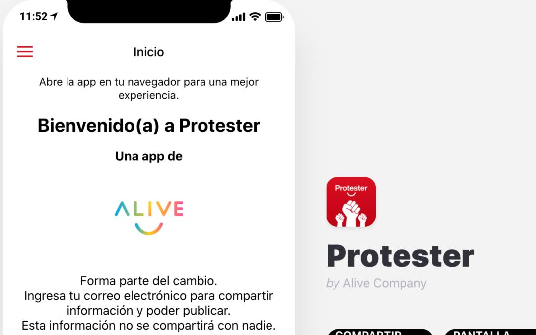 Protester: El futuro del Perú está en tus manos